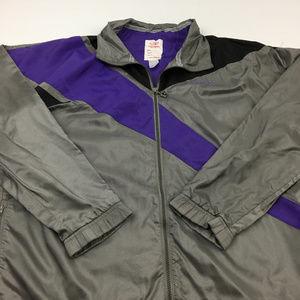 Reebok Windbreaker Jacket Vintage Style Sport L